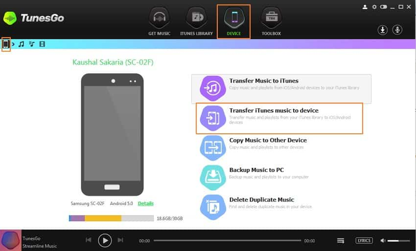 transfer-music-from-itunes-to-android-2-step3