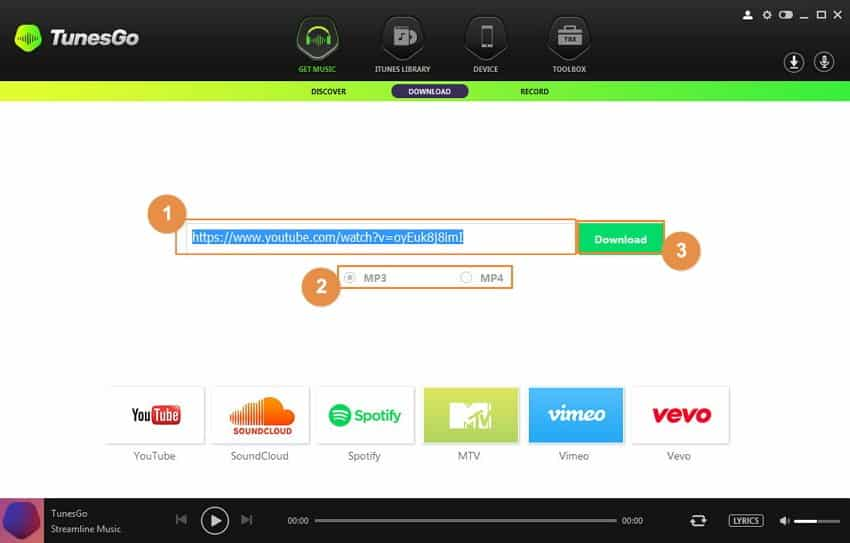 Put Music to Sony Xperia Z3 with iMusic