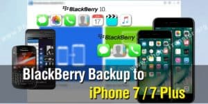 Transfer Data from BlackBerry into iPhone