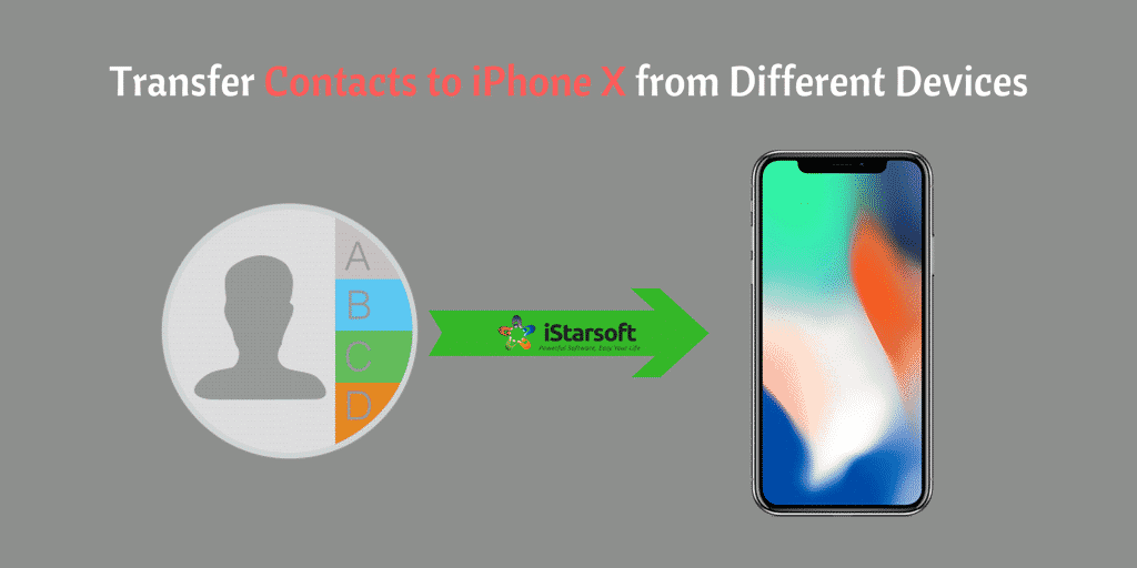 How to Transfer Contacts to iPhone X