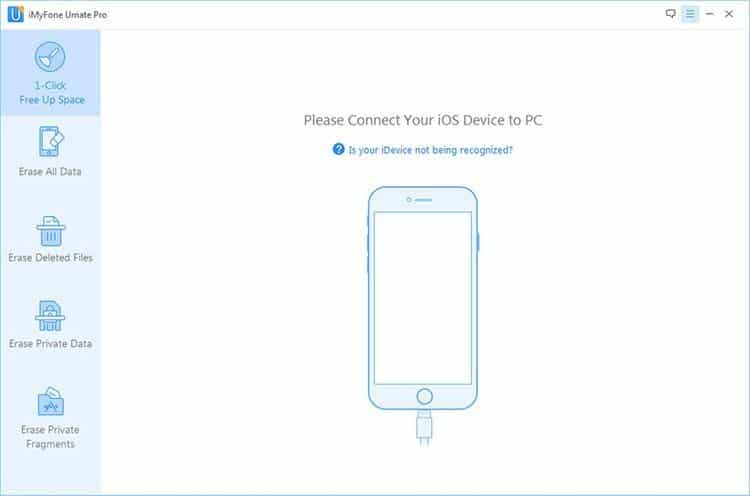 iMyfone Umate Pro - Connect iOS Devices