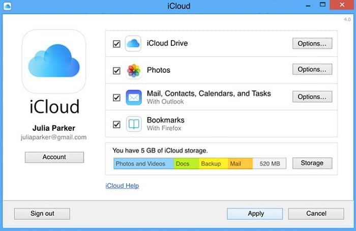 how to transfer photos from iPhone to pc Using iCloud for Windows