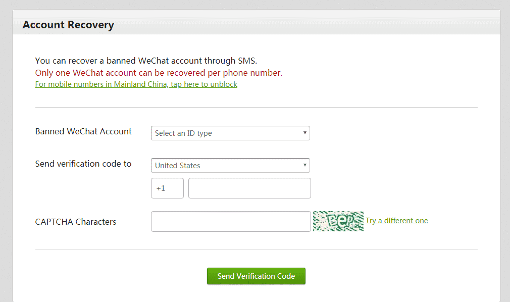 WeChat Data Recovery through wechat