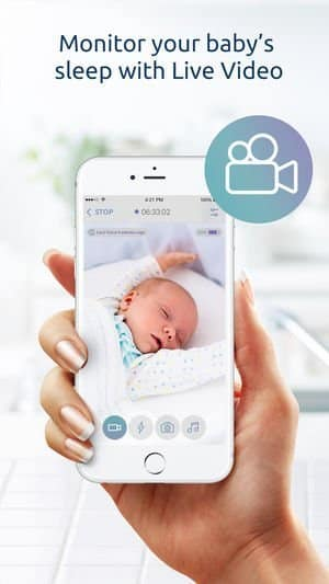 Baby Monitor App for iPhone