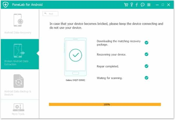 Fix Firmware Upgrade Encountered an Issue with Fonelab for Android