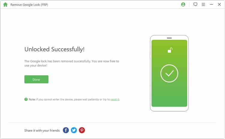Fix account action required with iMyFone Lockwiper (Android)