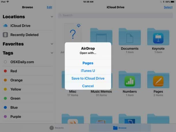 How to AirDrop on Mac to Your iPhone on iOS Devices
