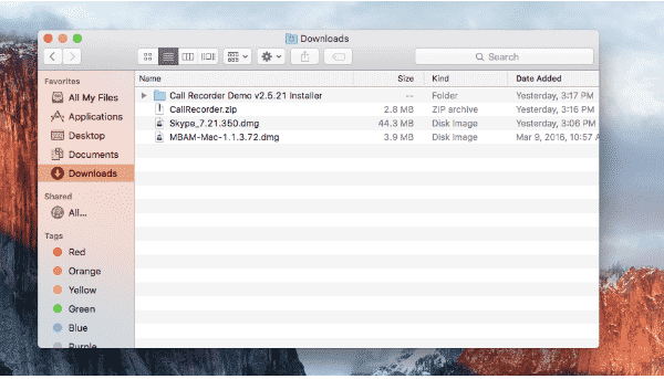 Empty Downloads Folder to solve macstartup disk full issue