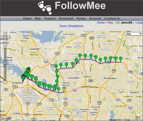 Followmee Spy GPS