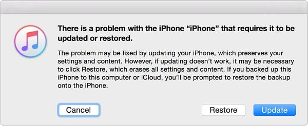 Restore iPhone in Recovery Mode to fix iPhone Stuck on Apple Logo issue