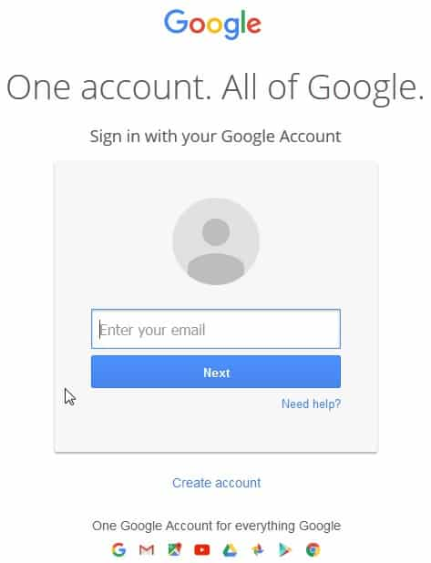 Gmail Account Recovery