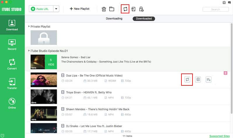 how to download twitch VODs with iTube