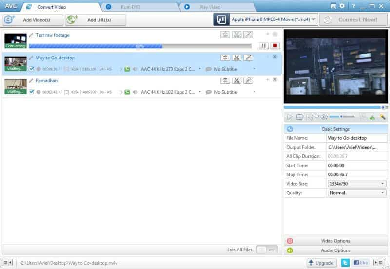 how to compress mp4 online with Any Video Converter