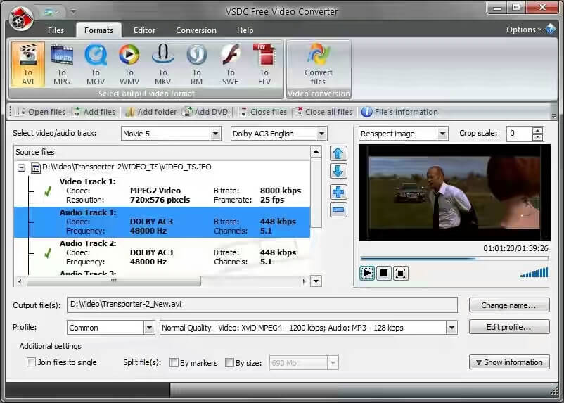 how to compress mp4 with VSDC Video Converter