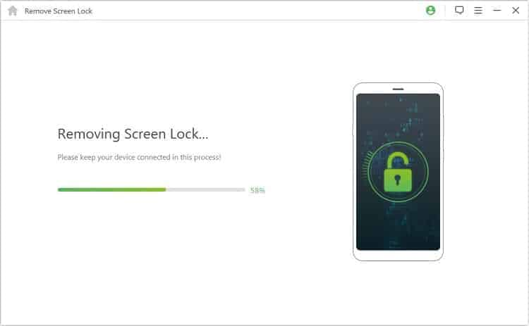 iMyFone LockWiper (Android) Android Face Unlock