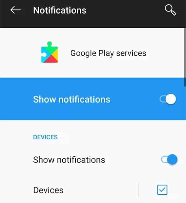 Turn off notifications to fix account action required