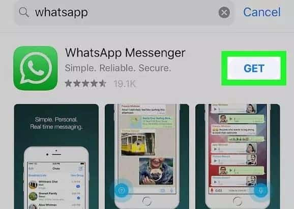 Reinstall WhatsApp on your iOS device