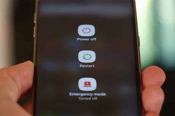 Restart your device to fix whatsapp not working on Android