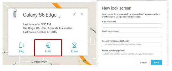 how to unlock Huawei phone without resetting via Android Device Manager