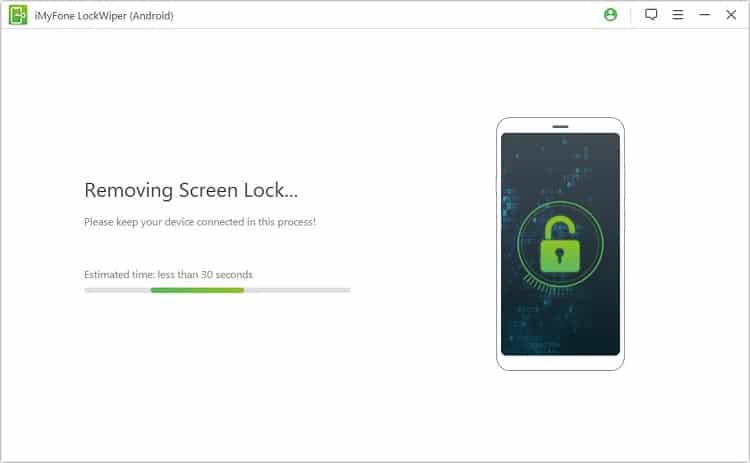 how to unlock Huawei phone without resetting via iMyFone Lockwiper for Android