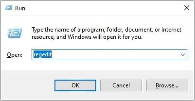 Fix there was a problem sending the command to the program by Registry