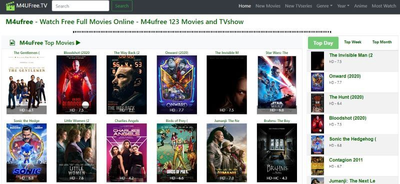 M4UFree Watch New Release Movies Online for Free Without Signing Up