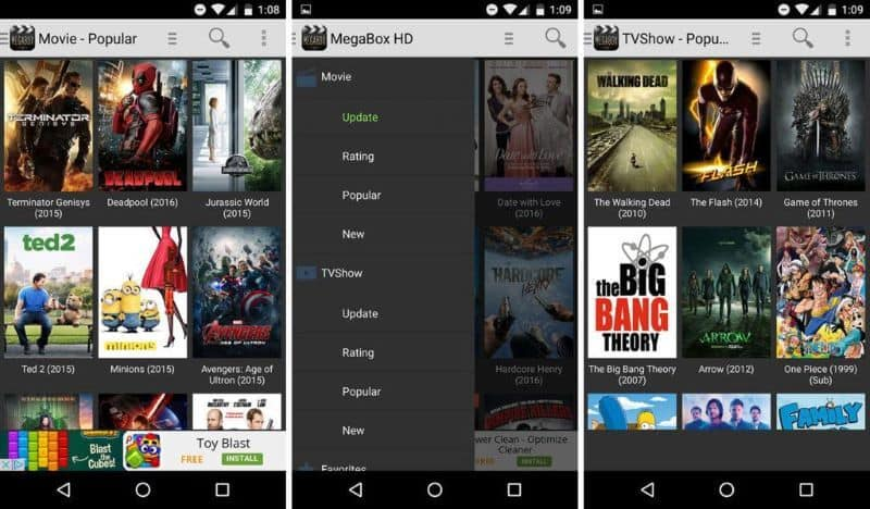 MegaBox HD Watch New Release Movies Online for Free Without Signing Up