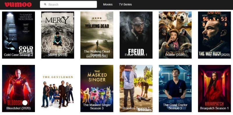 Watch New Release Movies Online for Free Without Signing Up - Vumoo