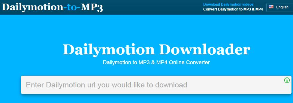 Dailymotion-to-mp3