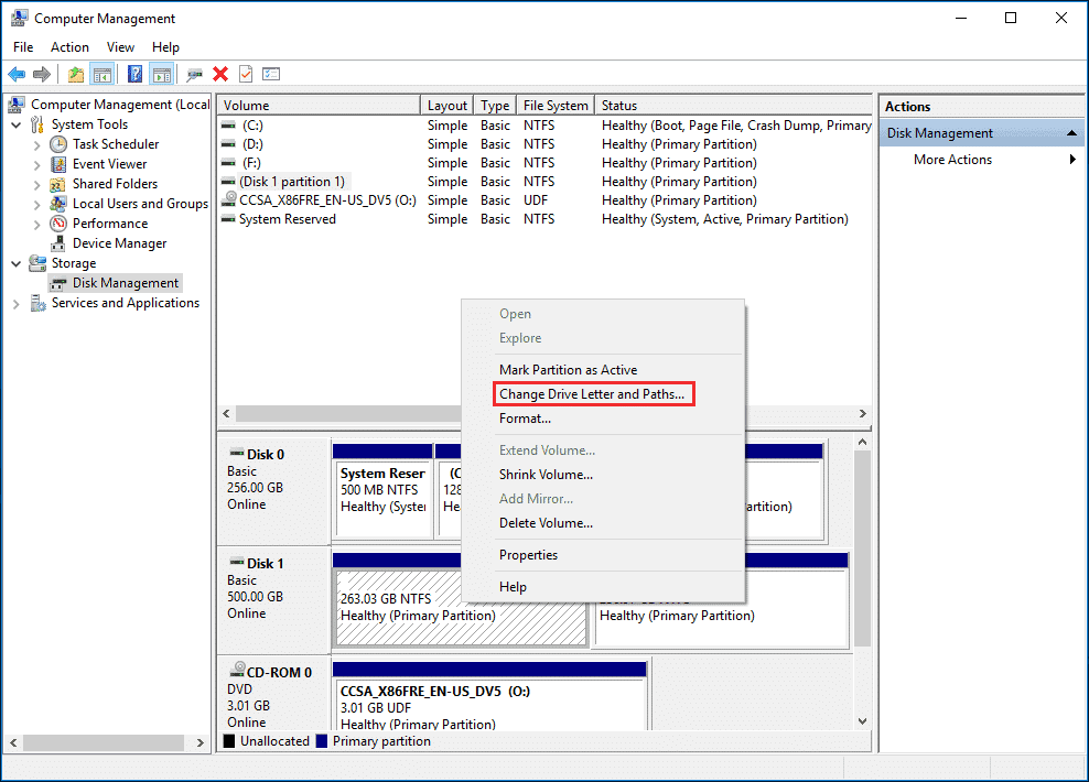 Fix 'SSD Not Showing Up' by adding Drive Letter