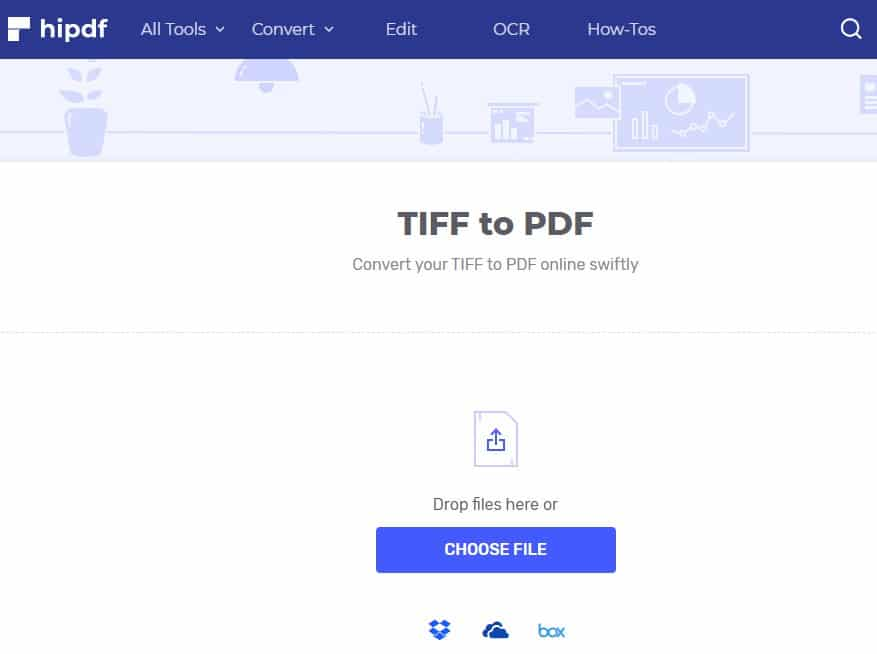 Convert TIFF To PDF Using HiPDF