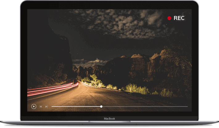 Use the raw recording to capture video