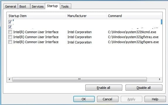 Use System Configuration