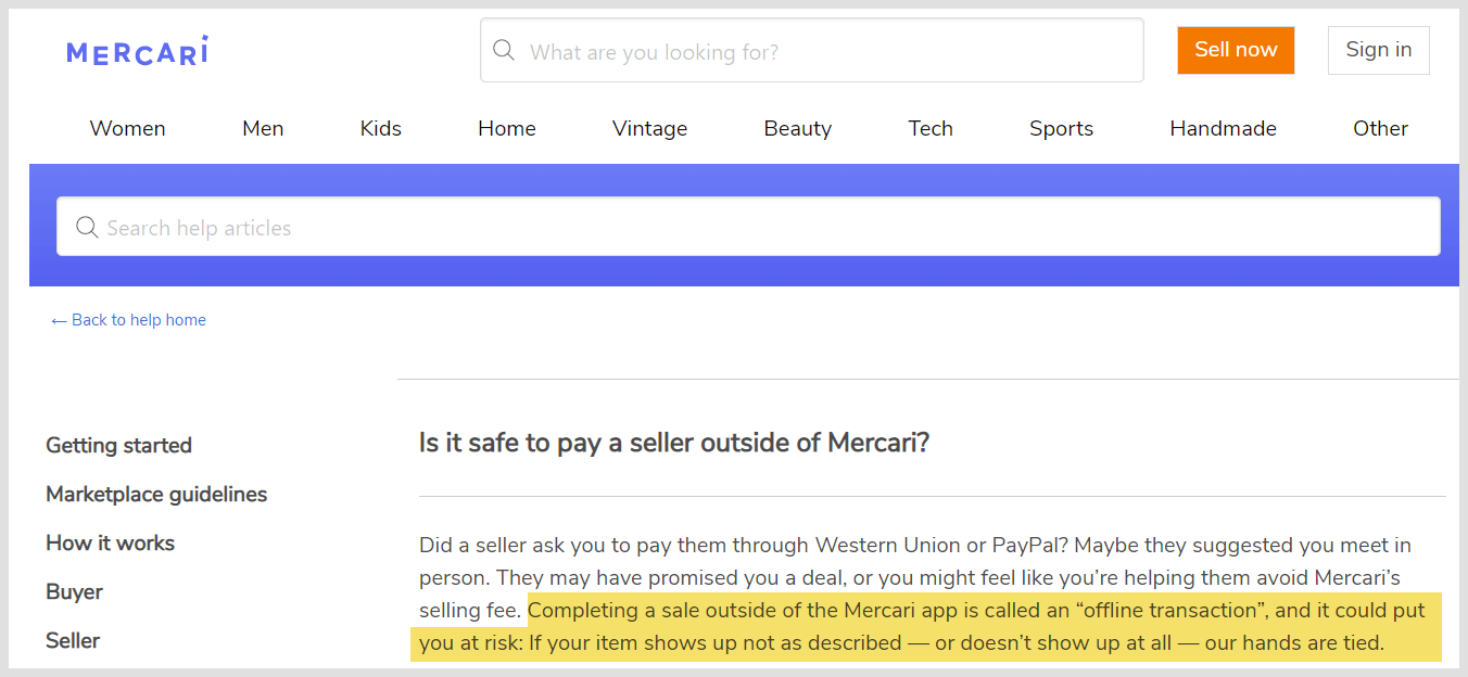 Is Mercari Legit - How Buyers Get Scammed on This Site