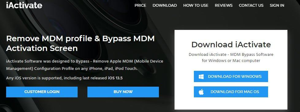 How to bypass MDM using iActivate
