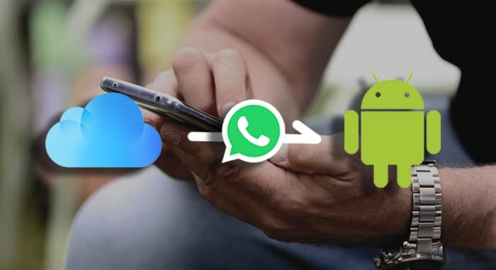 backup WhatsApp messages from iPhone to OnePlus through iCloud