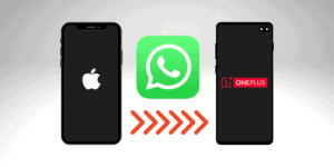 how do I backup whatsapp messages from iPhone to oneplus