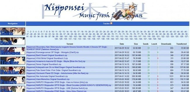 Nipponsei Minglong Anime OST Download Site