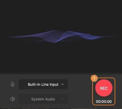 Record the Spotify Music as an MP3 file on a macOS computer