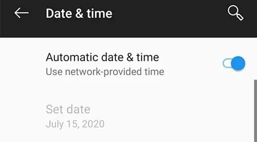 Try changing the Timezone to Automatic to Fix 'Pokemon Go Adventure Sync Not Working'