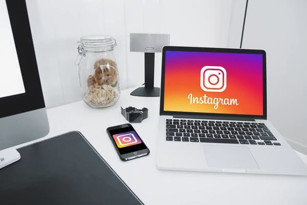 Use a different device for using Instagram