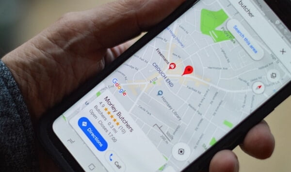 how to track a cell phone number on Google Maps