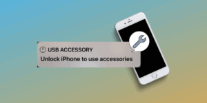 Unlock iPhone to Use Accessories