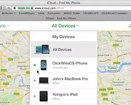 Use iCloud for Unlocking your Disabled iPhone Remotely