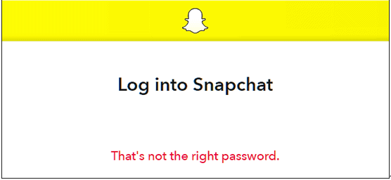 forgot Snapchat username