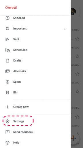 Gmail add signature to reply on iPhone