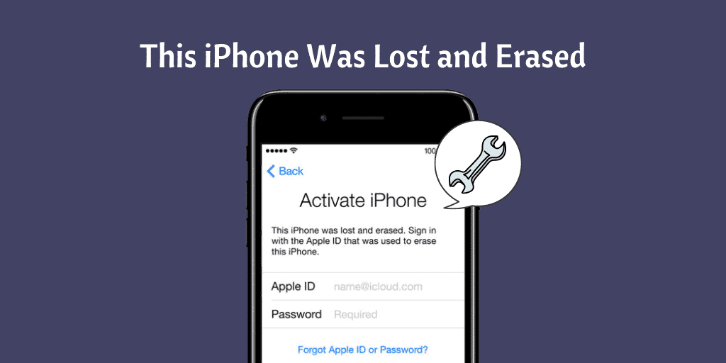 This iPhone Was Lost and Erased