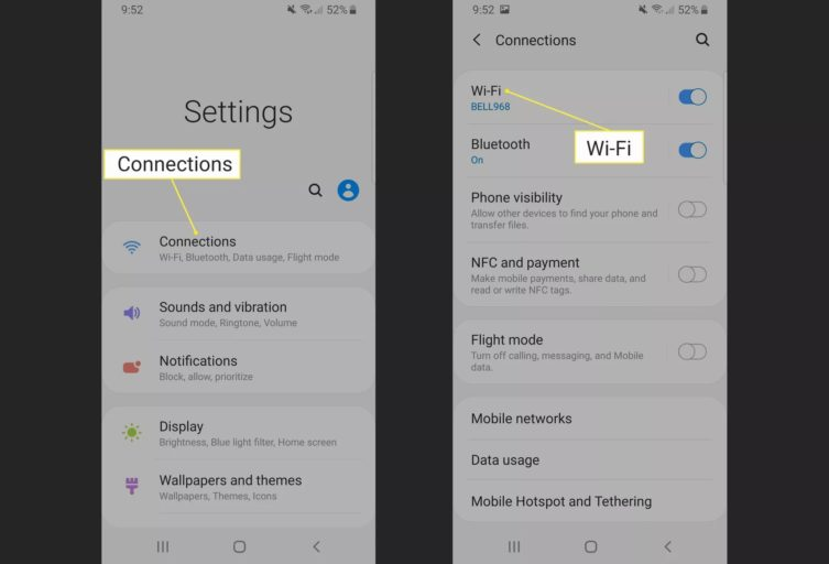 Employ Wi-Fi Direct on Android Nougat, Oreo, and Pie
