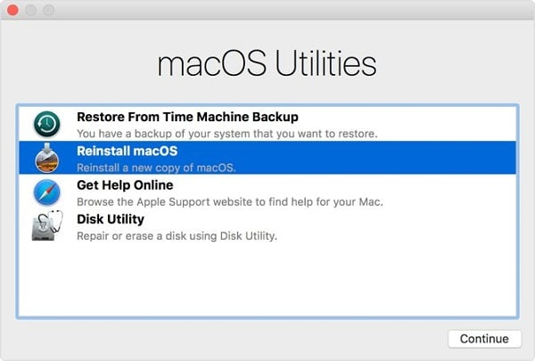 Fix the Recovery Server Could Not Be Contacted by Reinstall macOS