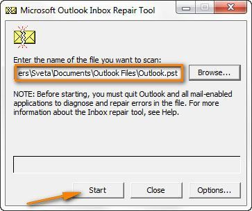 Fix the Outlook Invalid XML Using Outlook Inbox Repair Tool